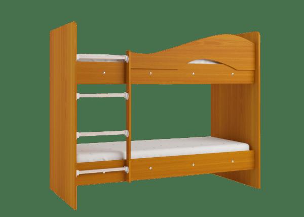 """maya vishnya 3 600x428 - Двухъярусная детская кровать """"Майя"""" со шкафом"""