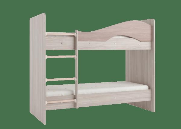 """maya yasen shimo 3 600x428 - Двухъярусная детская кровать """"Майя"""" со шкафом"""