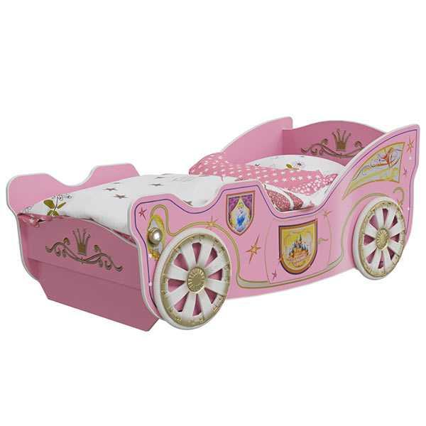 """mm princess krovatko kareta 600x600 1 - Набор мебели для детской """"Принцесса"""""""