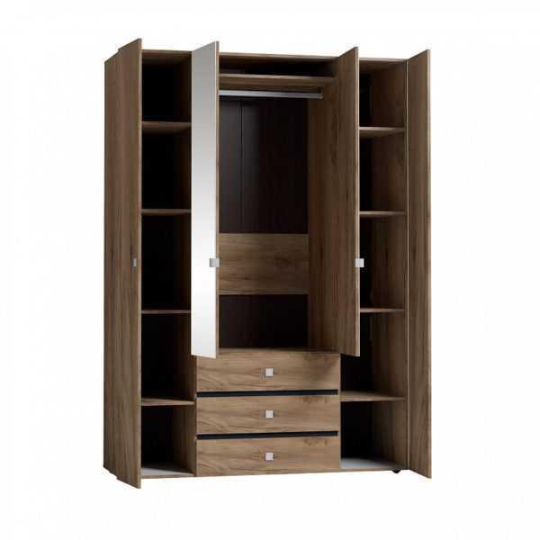 neo8 600x600 - Neo 555 Шкаф для одежды и белья  4-х дверный