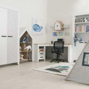nordic 12 5 300x300 - Нордик Ш2 шкаф-стеллаж для книг