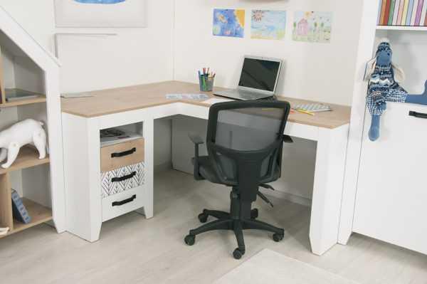 nordic 14 600x399 - Угловой письменный стол Нордик С2