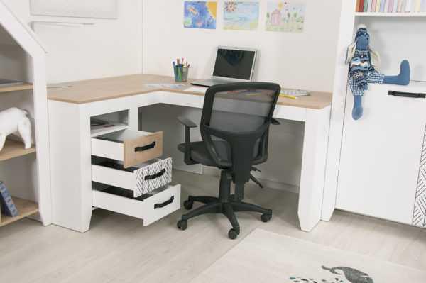 nordic 15 600x399 - Угловой письменный стол Нордик С2