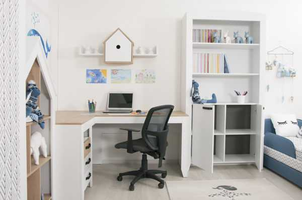 nordic 17 1 600x399 - Угловой письменный стол Нордик С2