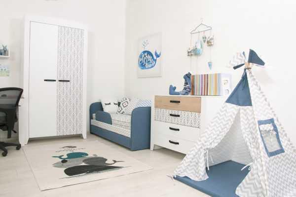 nordic 3 2 600x399 - Нордик Ш2 шкаф для одежды 2-х дверный