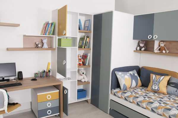 """podrostkovaya smarti 6 4 600x399 - Детская мебель """"Смарти"""" (Мирлачев)"""
