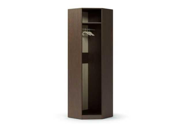 prihozhaya modul shkaf uglovoj venge dub bez dveri 1 1 600x442 - Модуль Шкаф угловой с зеркалом
