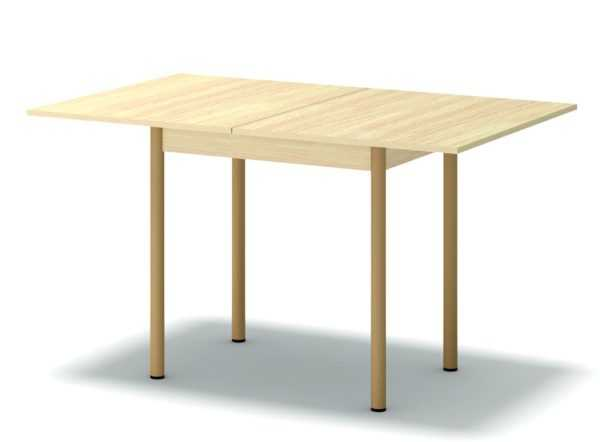 rso dub mlechnyj 1 600x442 - Стол обеденный раскладной