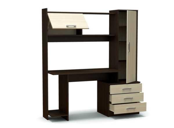"""rubin3 600x442 - Компьютерный стол """"Рубин"""""""