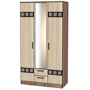 Коста-Рика Шкаф 3-х дверный