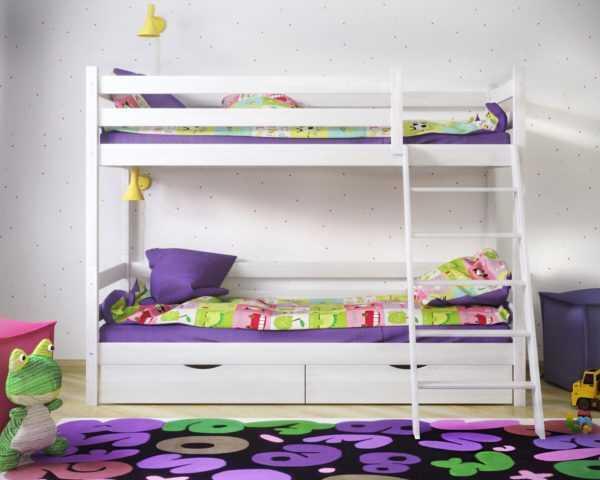 """sonechka  600x480 - Двухъярусная кровать из массива """"Сонечка"""""""