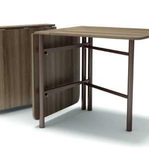 stol knizhka 700 na metallicheskih nogah yasen shimo temnyj 300x300 - Стол-книжка 700 на метал. ножках