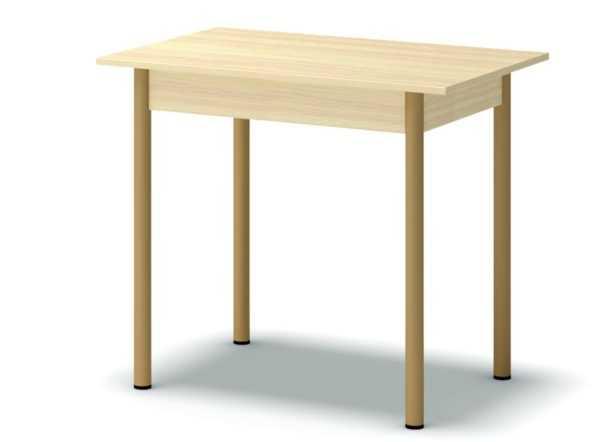 stol obed pryamoug dub mlechnyj 600x442 - Стол обеденный 860*570