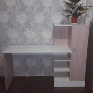 stol pismennyj v2 shimo svetlyj belyj4 300x300 - Письменный стол В2