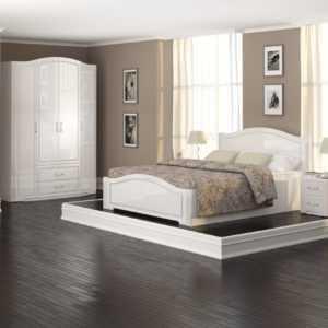 """vik 300x300 - Спальня """"Виктория"""" (Белый глянец)"""