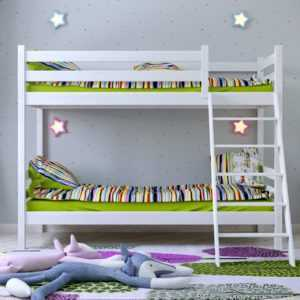 """w75  300x300 - Двухъярусная кровать из массива """"Сонечка"""""""