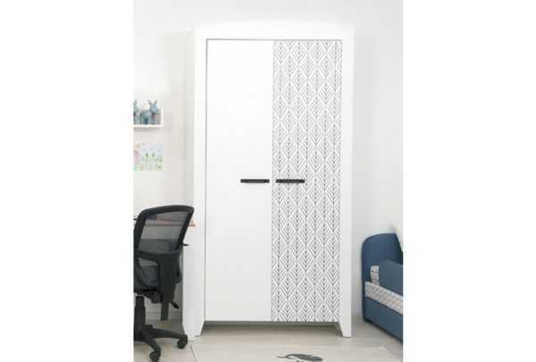 ya 70 600x405 - Нордик Ш2 шкаф для одежды 2-х дверный
