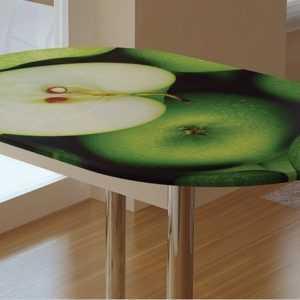 """Обеденный стол """"Зеленое яблоко"""""""