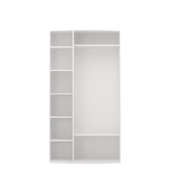 Виктория 09 шкаф для одежды 3-х дверный с зеркалом