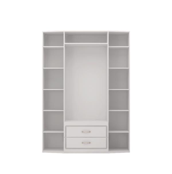 Виктория 02 шкаф для одежды 4-х дверный с зеркалом