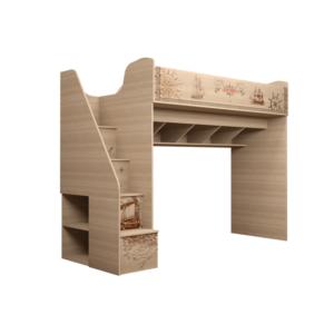 Квест 18 кровать-чердак с ящиками