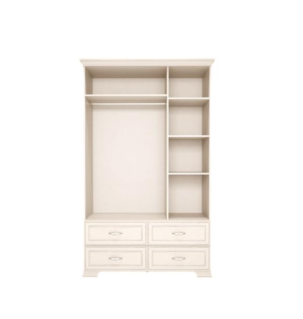 Венеция 01 шкаф для одежды 3-х дверный с ящиками