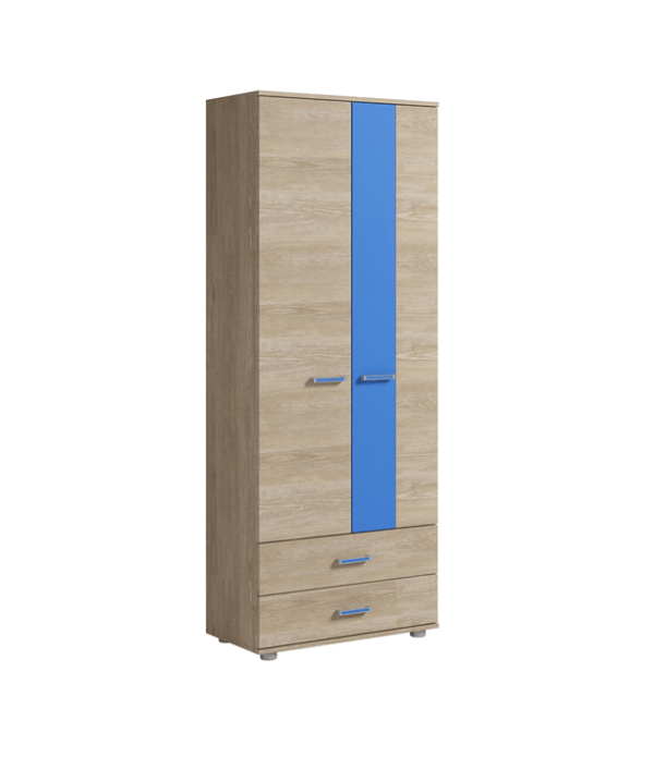 Formula шкаф для одежды 2-х дверный с 2-мя ящиками