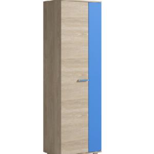 Formula шкаф для одежды 2-х дверный (голубой)