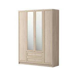 Брайтон 25 шкаф для одежды 4-х дверный с зеркалом