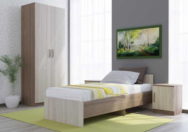 basya yash 600x424 - Бася кровать 80*190 см
