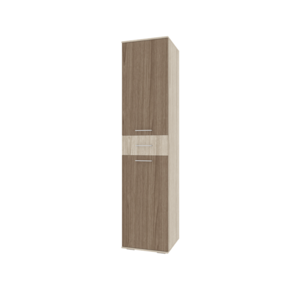 Белла шкаф-пенал с ящиком