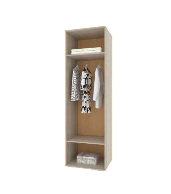 Белла шкаф-пенал с зеркалом