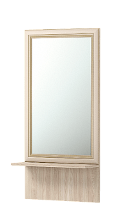 brajton21 - Брайтон 21 зеркало с полкой