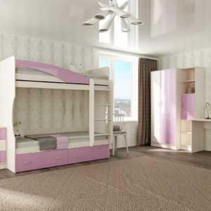 """Двухъярусная детская кровать """"Буратино"""""""