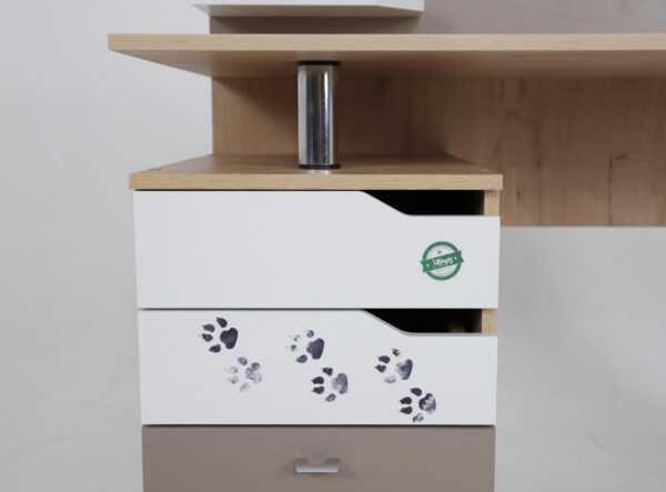 Хаски 01 письменный стол с ящиками