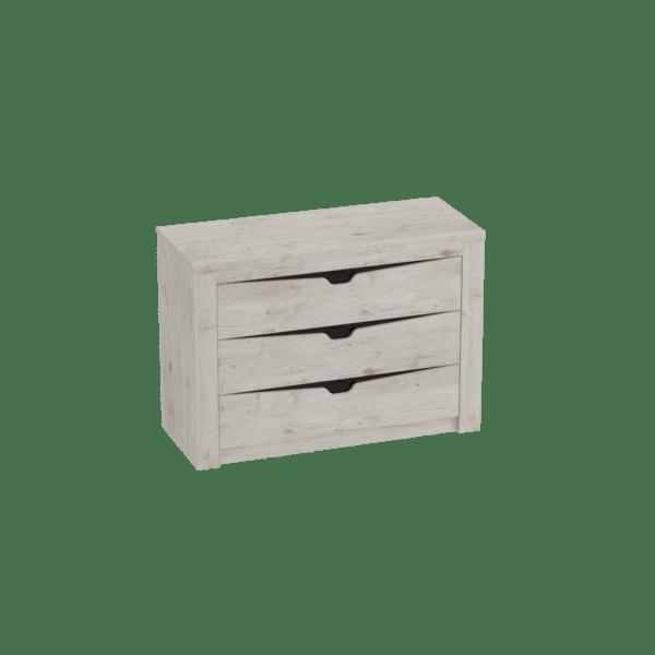 komod 4 600x600 - Соренто комод 3 ящика