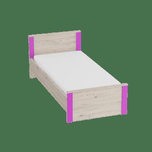 Кровать 900 Скаут - Фуксия