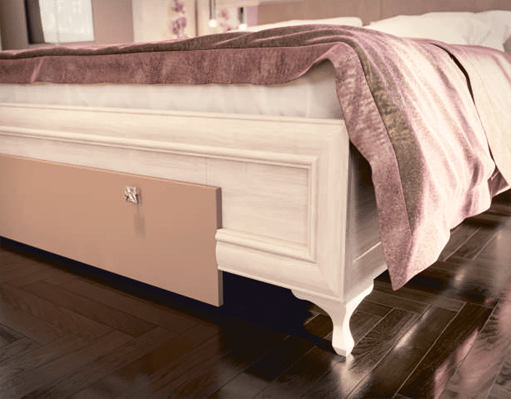 krovat4 - Кровать Саванна М06 1600 с тумбами