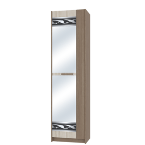 Марица шкаф-пенал с зеркалом