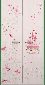 Принцесса 01 шкаф для одежды 2-х дверный