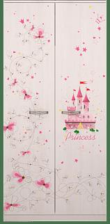 princzessa01 - Принцесса 01 шкаф для одежды 2-х дверный