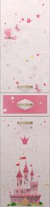 princzessa15 73x300 - Принцесса 15 шкаф-пенал