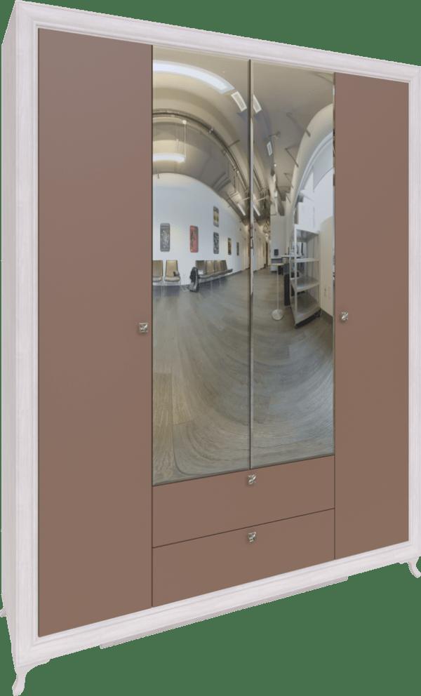 savanna01 600x992 - Саванна М01 Шкаф  4-х дверный