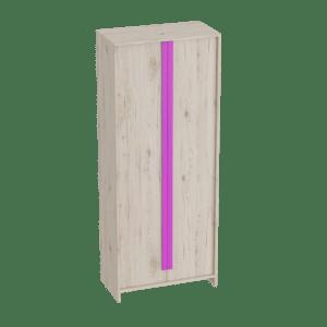Скаут-Фуксия шкаф 2-х дверный