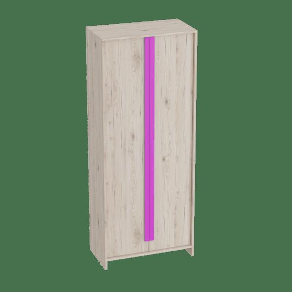 shkaf dvuhdvernyj fuksiya 600x600 - Скаут-Фуксия шкаф 2-х дверный