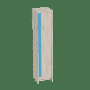 Скаут-Индиго шкаф 1-дверный