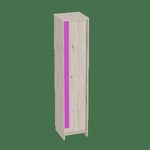 Скаут-Фуксия шкаф 1-дверный