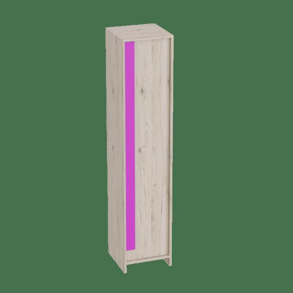 shkaf odnodvernyj fuksiya 600x600 - Скаут-Фуксия шкаф 1-дверный