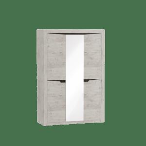 Соренто шкаф 3-х дверный