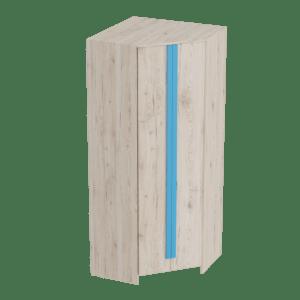 Скаут-Индиго шкаф угловой